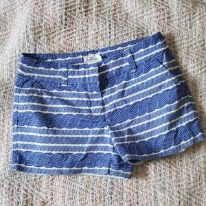 VINEYARD VINES Nautical Rope Shorts Size 0